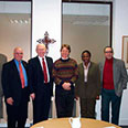 Churches Together for Britain & Ireland, with General Secretary Dr David Goodbourn and colleagues, in London